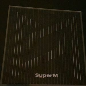 SuperM album with Kai pc and poster